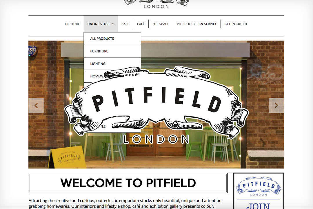 Pitfield-Website